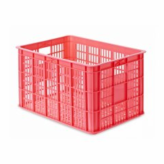 Industrial plastic fruit crate and turnover box mould